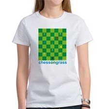 Chess On Grass Croquet Tee