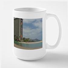Duke Kahanamoku Beach Large Mug