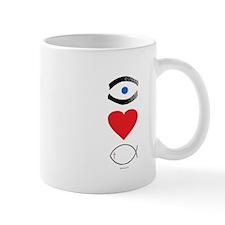 I Heart The Fish Mug
