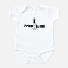 Fripp Island - Lighthouse Design Infant Bodysuit