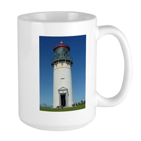 Kilauea Lighthouse Kauai Large Mug