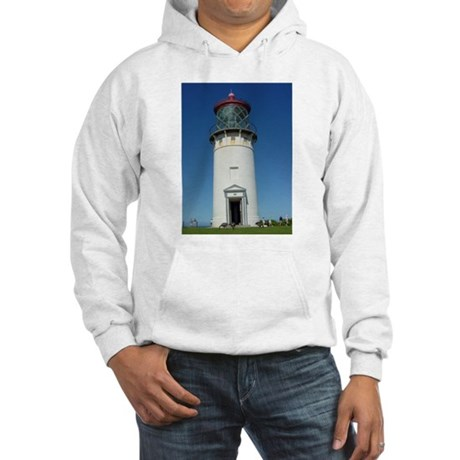 Kilauea Lighthouse Kauai Hooded Sweatshirt