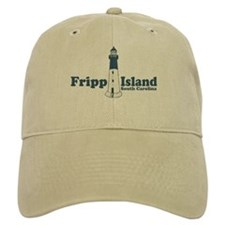 Fripp Island - Lighthouse Design Baseball Cap