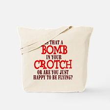 Crotch Bomber Tote Bag