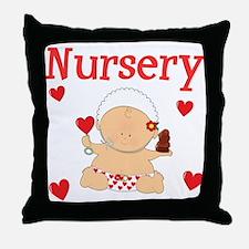 Nursery Throw Pillow