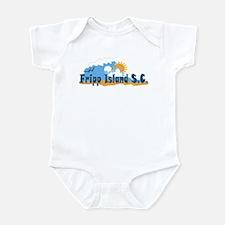 Fripp Island - Waves Design. Infant Bodysuit