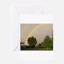 Rainbows bring about beautifu Greeting Card