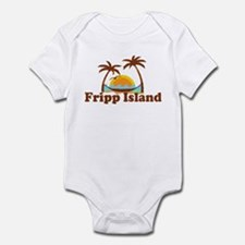 Fripp Island - Sun and Waves Design Infant Bodysui