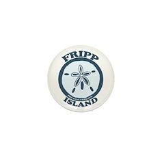 Fripp Island - Sand Dollar Design Mini Button