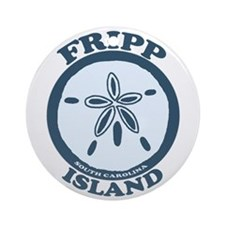 Fripp Island - Sand Dollar Design Ornament (Round)