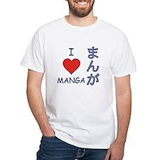 I Love Manga Shirt
