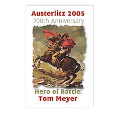 Heroes of Austerlitz 2005 Postcards (Package of 8)
