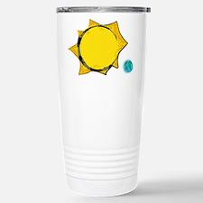 Sun-Earth Stainless Steel Travel Mug