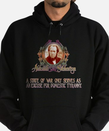 ALEKSANDR SOLZHENITSYN ON WAR Hoodie (dark)