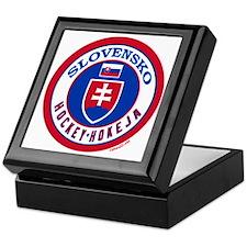 SK Slovakia/Slovensko Hockey Keepsake Box
