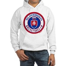 SK Slovakia/Slovensko Hockey Hoodie