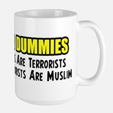 """Islam For Dummies"" Large Mug"