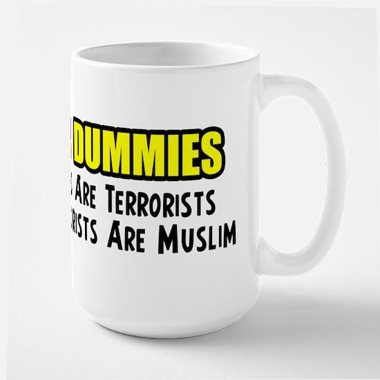 """Islam For Dummies"" Large Mug"