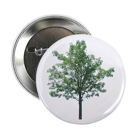 """A Single Tree - 2.25"""" Button"""