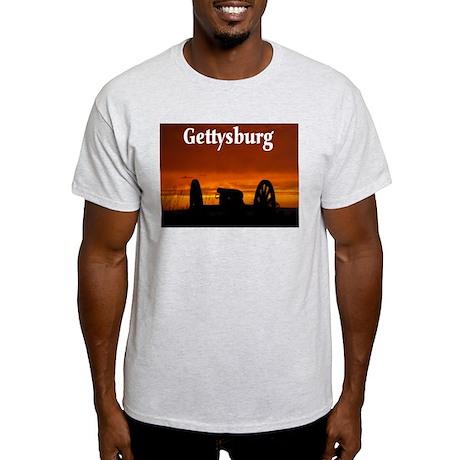 Gettysburg Cannon Light T-Shirt