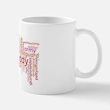 Military Wordle Mug