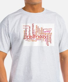 Military Wordle T-Shirt