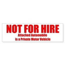 not for hire