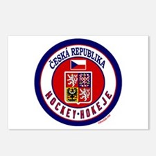 CZ Czech Rep Ice Hockey Postcards (Package of 8)