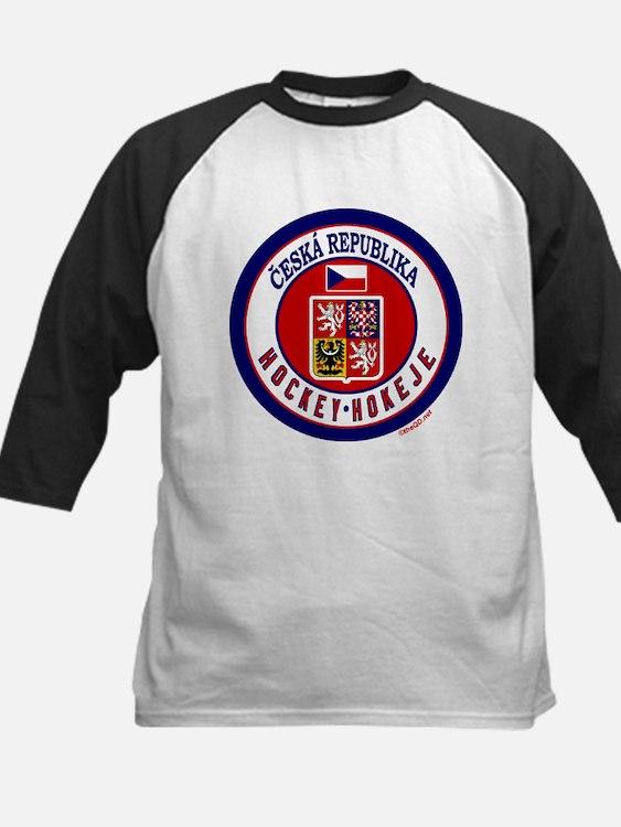 CZ Czech Rep Ice Hockey Tee