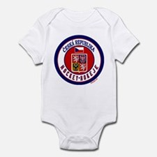 CZ Czech Rep Ice Hockey Infant Bodysuit
