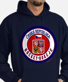 CZ Czech Rep Ice Hockey Hoodie (dark)