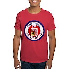 CZ Czech Rep Ice Hockey T-Shirt