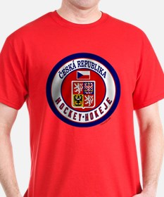 CZ Czech Rep Ice Hockey T-Shirt