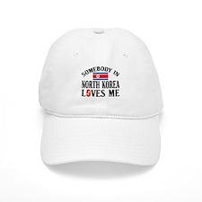 Somebody In North Korea Baseball Cap
