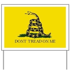 Gadsden flag Yard Sign
