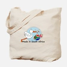 Stork Baby South Africa Tote Bag