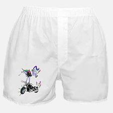 Cute Unicorn farting Boxer Shorts