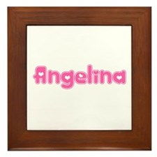 """Angelina"" Framed Tile"