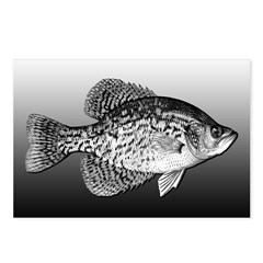 CRAPPIE Postcards (Package of 8)