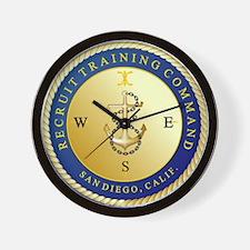 RTC San Diego Crest Wall Clock