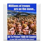 Millions of Troops Tile Coaster
