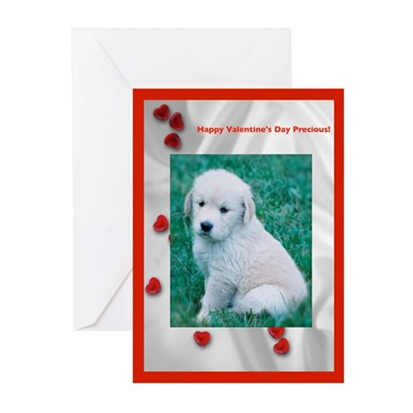 Puppy Valentine Greeting Cards (Pk of 10)