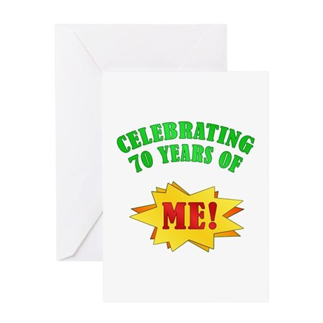 Funny Attitude 70th Birthday Greeting Card