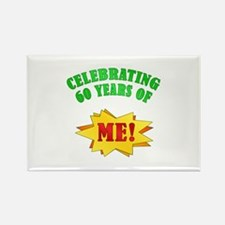 Funny Attitude 60th Birthday Rectangle Magnet