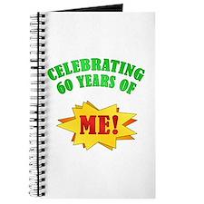 Funny Attitude 60th Birthday Journal