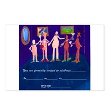 Party Invitations Postcards (Package of 8)