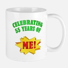 Funny Attitude 55th Birthday Mug
