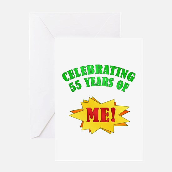 Funny Attitude 55th Birthday Greeting Card