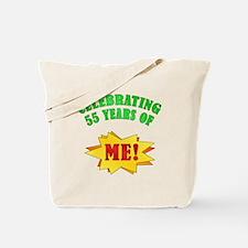 Funny Attitude 55th Birthday Tote Bag