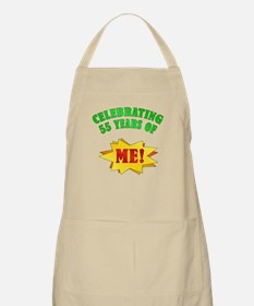 Funny Attitude 55th Birthday Apron